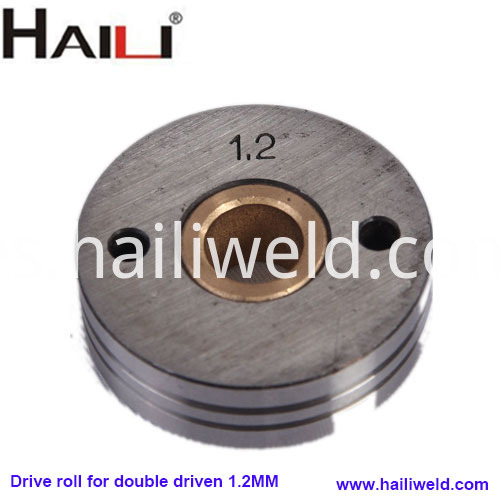 Drive roll for double driven 1.2mm